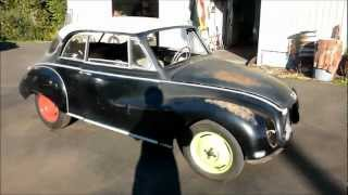 1960 DKW 3=6 Auto Union roars to life