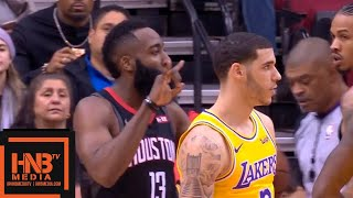 LA Lakers vs Houston Rockets 1st Half Highlights | 01/19/2019 NBA Season