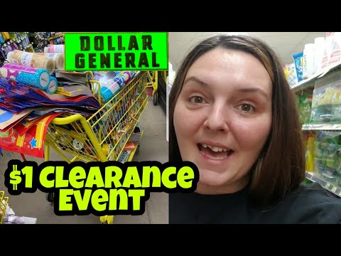 Penny Shopping List + $1 Clearance Event At Dollar General