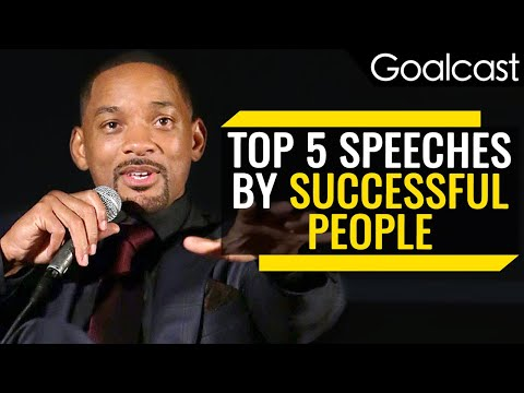 Top 5 Speeches from Successful People on Why You Should Fail | Goalcast