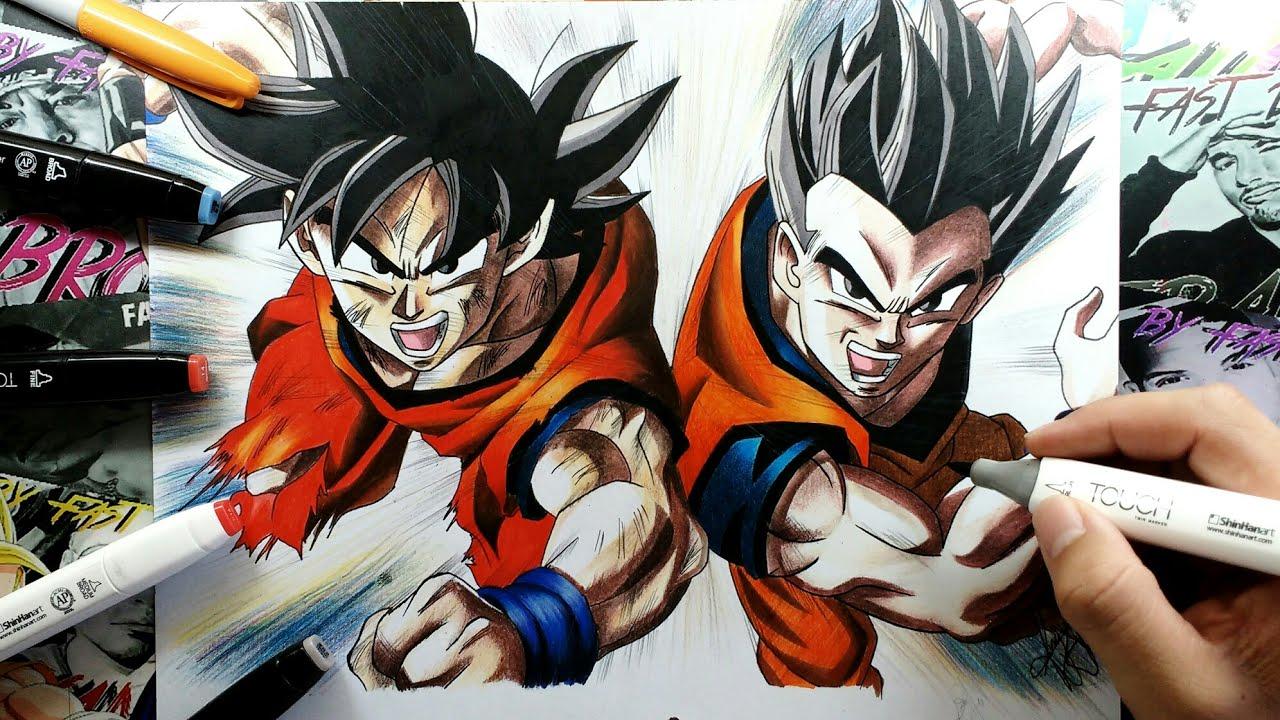 Imagenes Para Colorear De Goku Super Sayayin: Dibujos De Goku Para Colorear