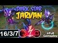 DARK STAR JARVAN NEW SKIN SEASON 8 | New Runes Jarvan | Season 8 PBE SKIN SPOTLIGHT Full Gameplay