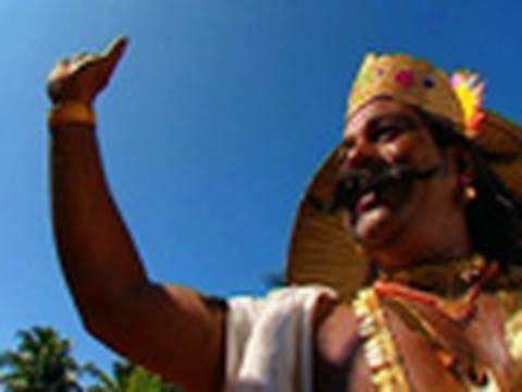 King Mahabali and the festival of Onam