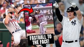 Batter HIT IN FACE By Fastball And Manager Gets Ejected! Luke Voit Third Deck Home Run (MLB Recap)