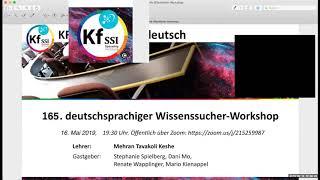 2019 05 16 PM Public Teachings in German - Öffentliche Schulungen in Deutsch