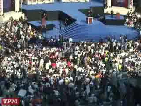 Rep. John Lewis (D-GA) Addresses the DNC Crowd