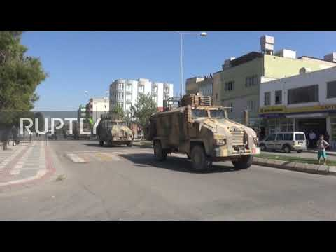 Turkey: Border Town Welcomes Turkish-backed Free Syrian Army