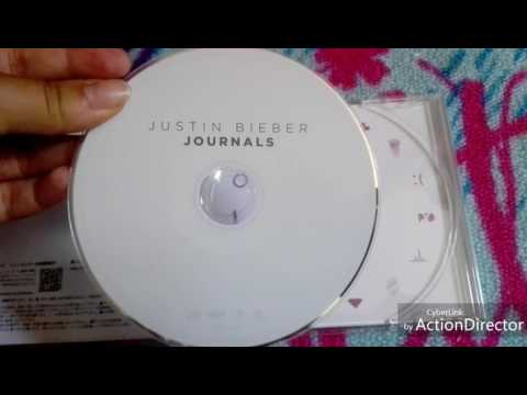 LE CD JOURNALS DE JUSTIN BIEBER !!!