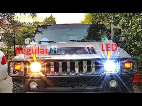 How to Upgrade LED Headlights on HUMMER