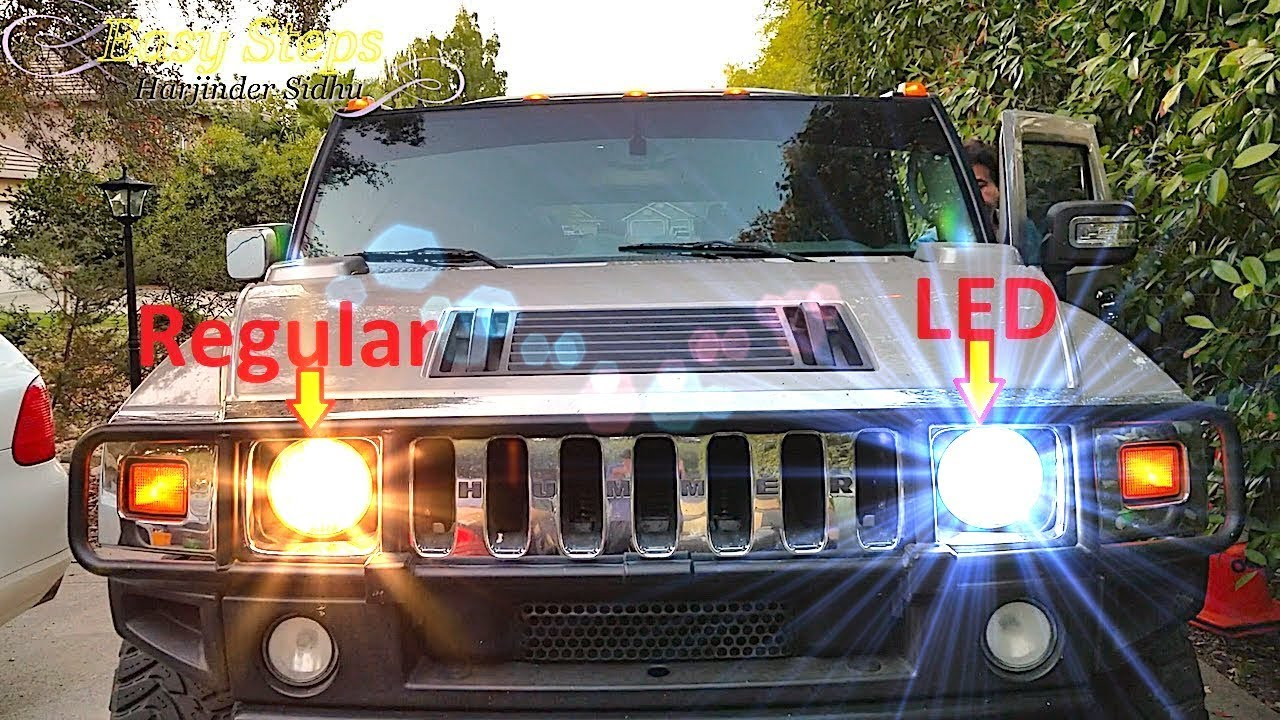 hummer h2 window wiring diagram led headlights are they really better than halogens youtubeled headlights are they really better than [ 1280 x 720 Pixel ]