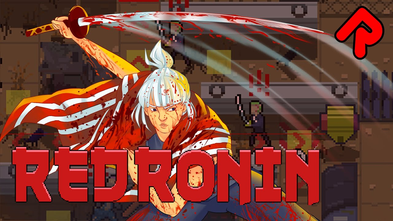 RED RONIN gameplay: Turn-based Hotline Miami?! (PC preview demo)