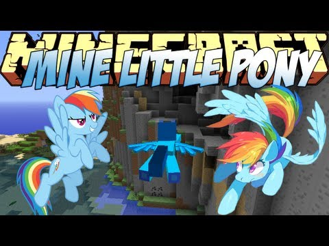 Minecraft Mods Showcase - Mine Little Pony Mod! (1.8) - 1.7.10 - 1.8.2