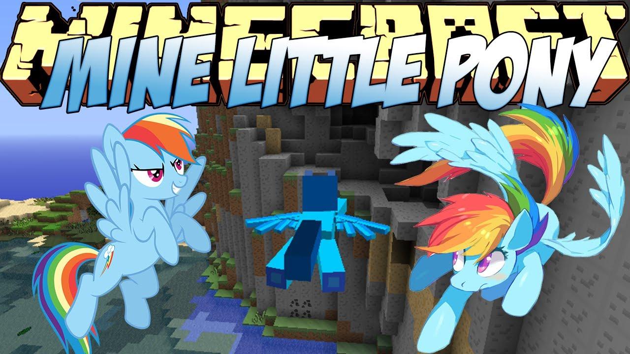 Мод mine little pony для minecraft 1. 6. 4.
