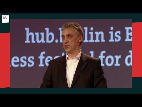 How humans and machines are transforming logistics | Dr. Frank Appel | hub.berlin 2017