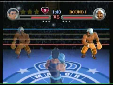 Punch Out Wii: Video Walkthrough: Great Tiger