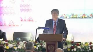 А. Г. Төлеев Түбінде ауыл, Тяжинский (5.10.2012)