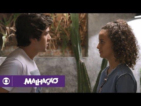 Malhação - Vidas Brasileiras: capítulo 54 da novela, terça, 22 de maio, na Globo