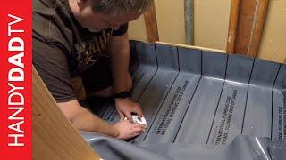 Custom Shower Pan | Master Bath Remodel (Part 3)