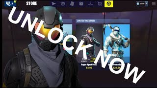 (2018) How to Unlock the Rogue Agent Bundle *NOW* in Fortnite Battle Royale - Apple Exclusive Bundle