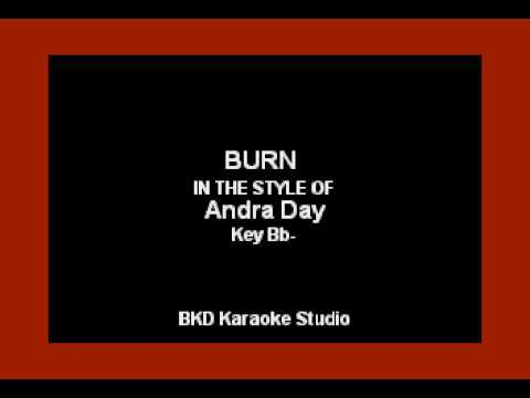 Burn (In the Style of Andra Day) (Karaoke with Lyrics)