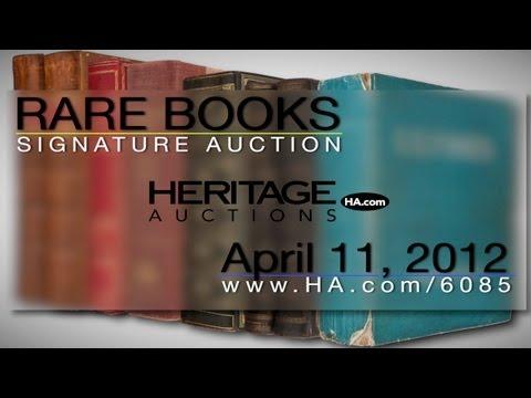 Heritage Auctions (HA.com) -Heritage Auctions New York Signature Rare Books Auction #6085