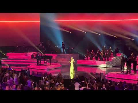 Celine Dion Performing New Single Flying On My Own Live In Las Vegas