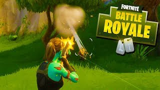 BLOW THE WHOLE HOUSE UP! - Fortnite Battle Royale with The Crew!