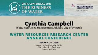 WATER TRANSACTIONS: LESSONS LEARNED – WRRC Conference 2018