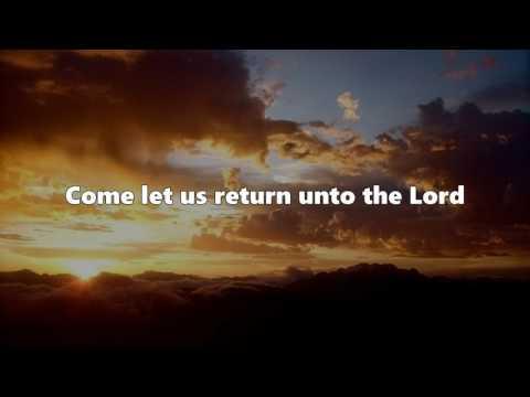 Come let us return - Kevin Prosch (Lyrics)
