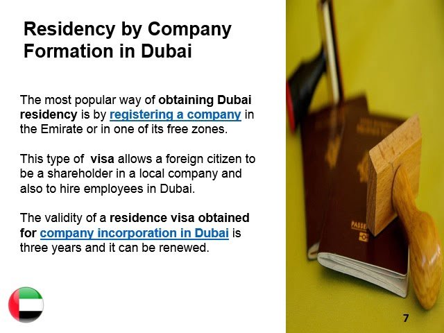 Obtaining Dubai Residency