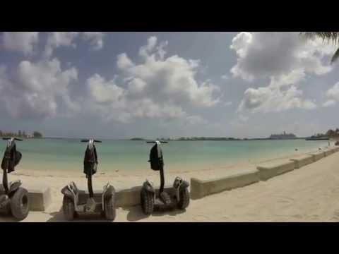 Segways in the Bahamas
