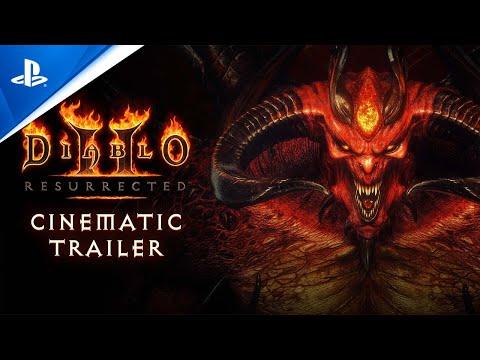 Diablo II: Resurrected - Cinematic Trailer   PS5, PS4