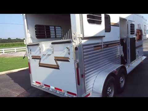 Used 2010 Adam Pro Classic Two Horse 10' Living Quarters