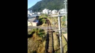 下りサンライズ瀬戸(285系電車I2編成) 琴平到着・下車