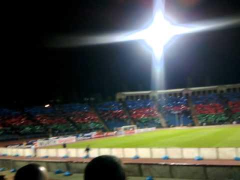 Azerbaijan 1 - 0 Turkey match: anthem of Azerbaijan (finishing)
