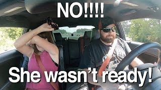 Mother-in-law reacts to Challenger Hellcat!!! **You're no longer my son-in-law***