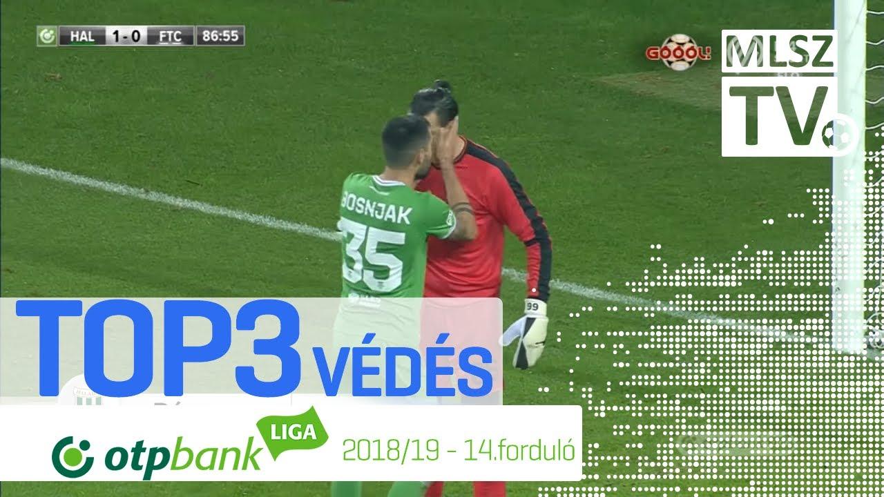 TOP 3 VÉDÉS – 14. forduló | OTP Bank Liga | 2018/2019