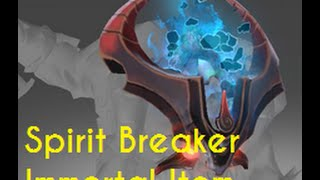 Dota 2 - Spirit Breaker Immortal Item - Iron Surge + Giveaway