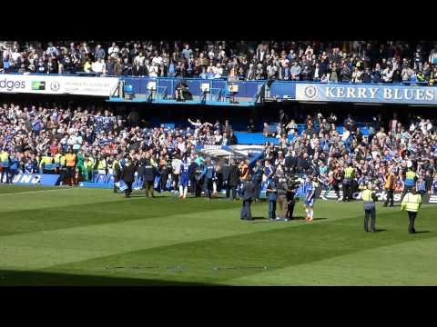 Chelsea - Premier League winning Palace match 2015 - blue is the colour