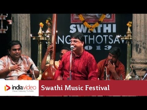 Carnatic music – Vocal by O.S. Arun, Swathi Music Festival, 2013