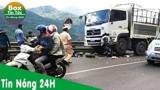 Tai nạn đèo Bảo Lộc, 1 phượt thủ mắc kẹt dưới bánh xe tải
