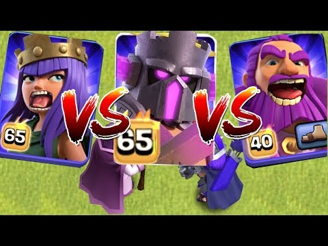Pekka King Vs. Queen Vs. Grand Warden!!