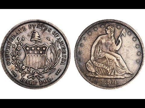 The Incredible Value Of The 1861 Confederate Half Dollar