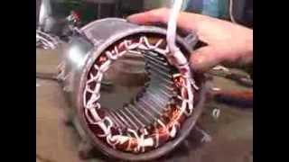 видео Как перемотать электродвигатель в домашних условиях