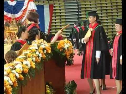 พิธีพระราชทานปริญญาบัตร ม.กรุงเทพธนบุรี ประจำปีการศึกษา 2555 วันแรก NBT