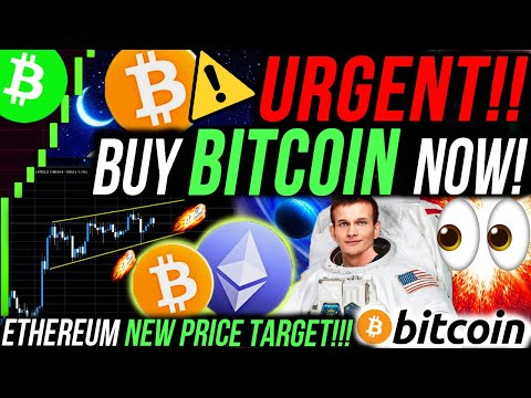 URGENT!!🚨 BUY BITCOIN RIGHT NOW!!! NEW ETHEREUM PRICE TARGET!!! ALTCOIN SEASON OVER!? BITCOIN NEWS