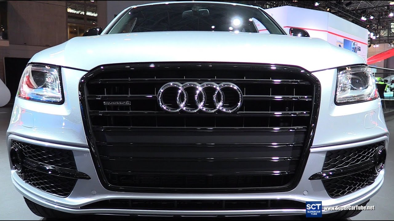 2016 audi q5 3 0t quattro exterior and interior walkaround 2016 new york auto show youtube. Black Bedroom Furniture Sets. Home Design Ideas