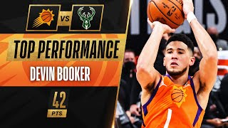 Devin Booker BREAKS RECORD for MOST POINTS SCORED in 1st Playoffs!