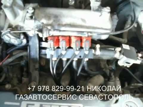 Видео ГБО на Volkswagen Caddy. ГБО AEB Харьков. Газ на Фольксваген Кадди