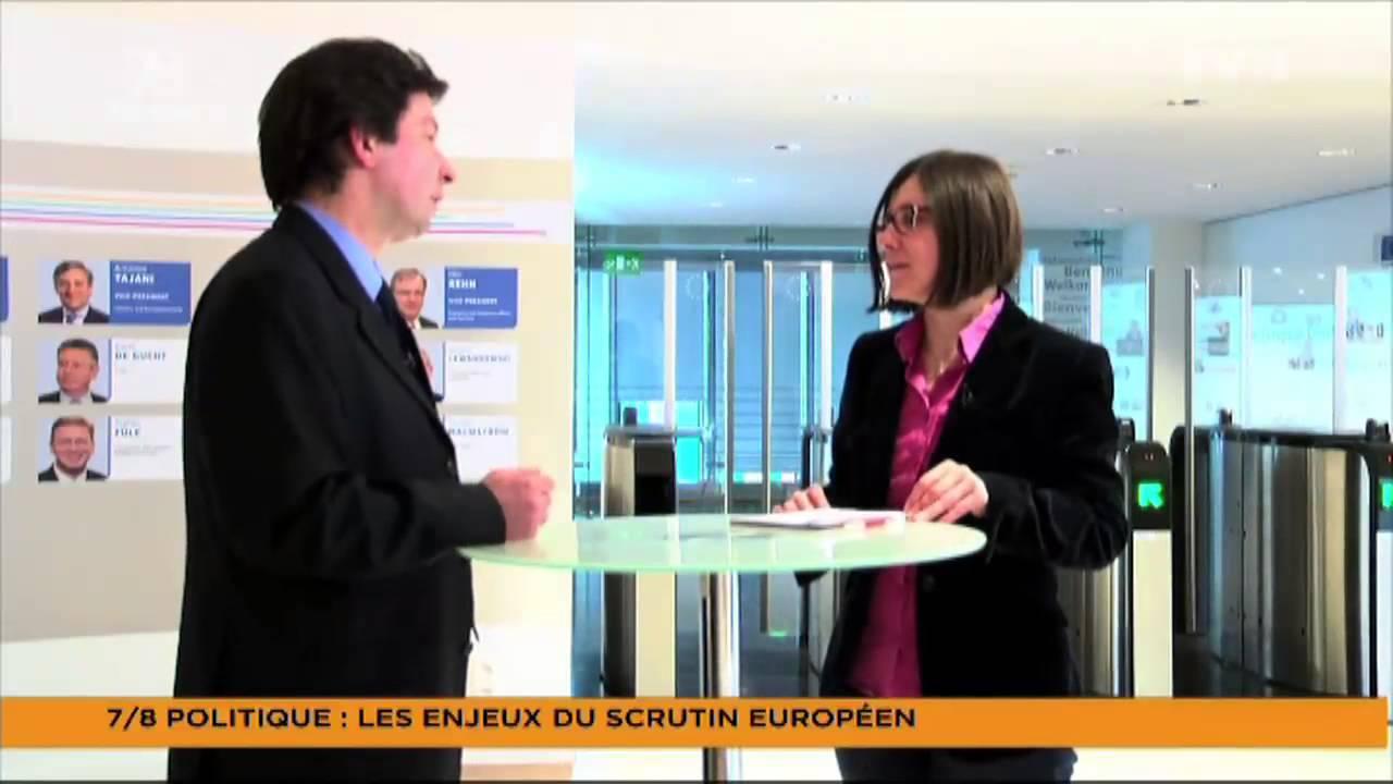 Le 7/8 Politique – Les enjeux du scrutin européen